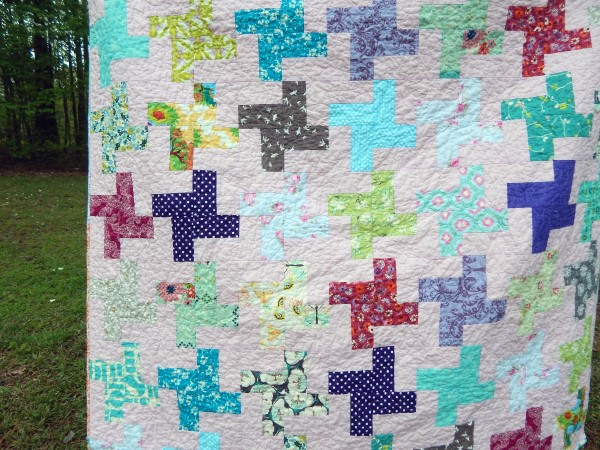 Whip a Wheel Quilt, You choose Size and color palette