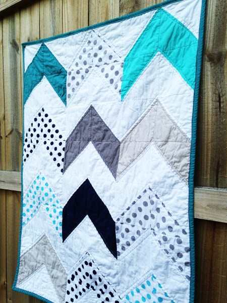 Follow Your Arrow Quilt, You choose Size and color palette