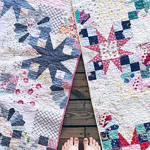 Bad Girl Quilt - You choose size and fabrics/colors
