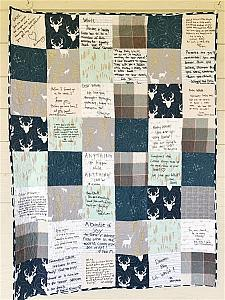 Guest Book Quilt for BABY SHOWERS
