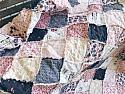 CHARLESTON, rag quilt ( crib - king sizes available )