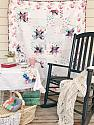 Scrapping Star Quilt, You choose Size and color palette