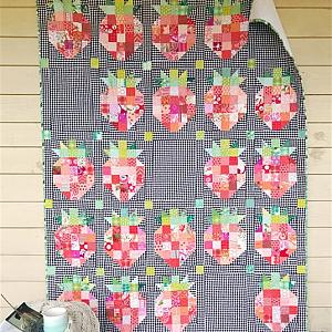 That Strawberry Quilt, You choose Size and color palette