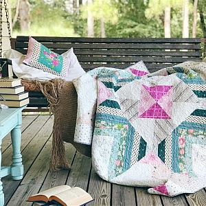 Carolina Mingle Quilt, You choose color palette