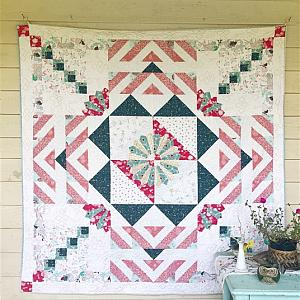 Morning Sun Quilt, You choose color palette - Custom quilt