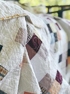 Memory Quilt with Granny Squares