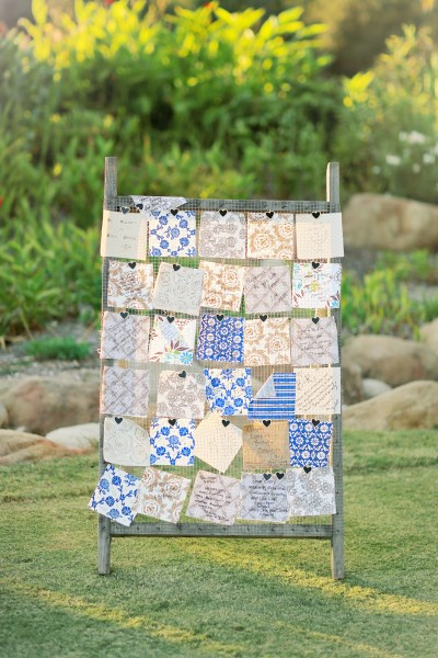 Guest Book Quilt for SMALL EVENTS