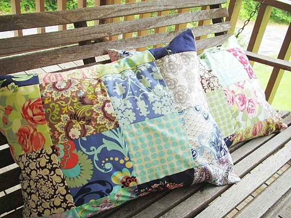 Add on a Patchwork sham, any fabrics, 3 different sizes